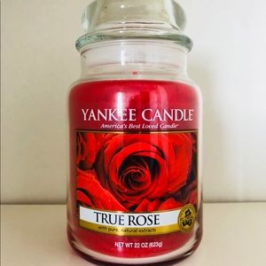 Yankee Candle True Rose - 22 OZ